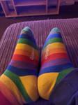 I have 8 socks on uwu