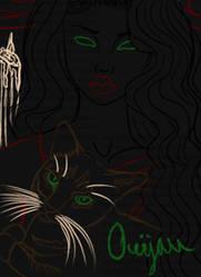 Ouijan-LineArt
