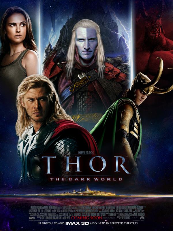 Thor 2 - The Dark World by ~GrafikInvaders