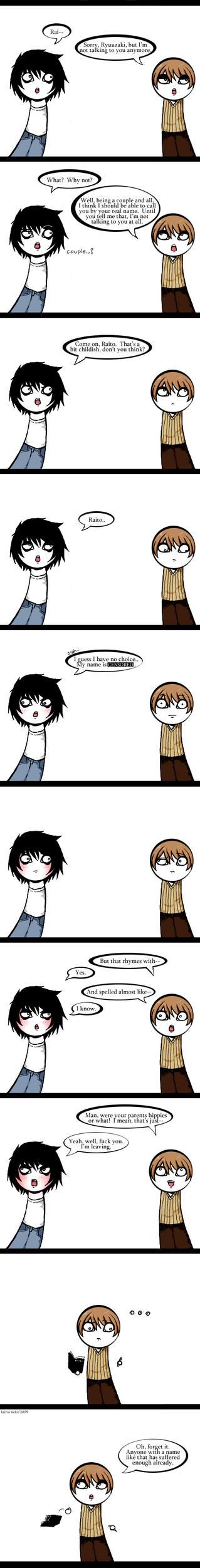 Death Note - L's Name. by kuroineko