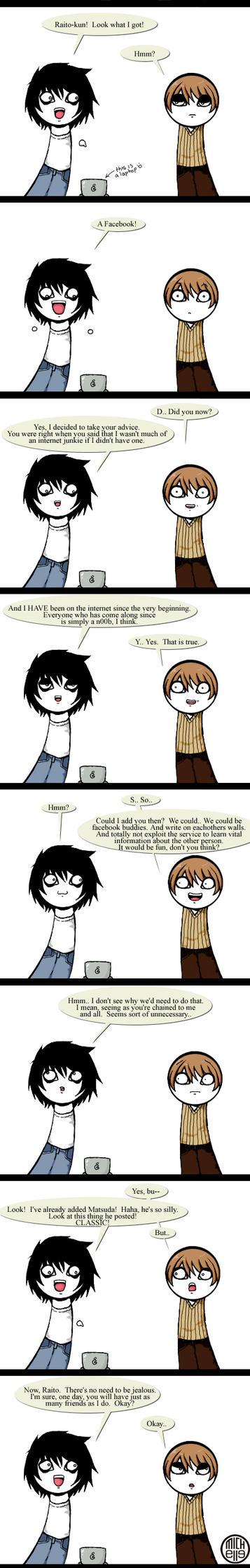 Death Note - Facebook. by kuroineko