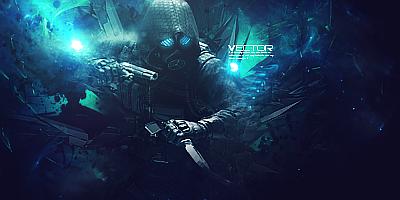 Vector // Signature by 3DBlenderRender