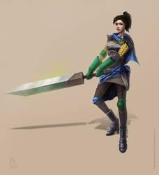 Mercenary by PurpleLemon13