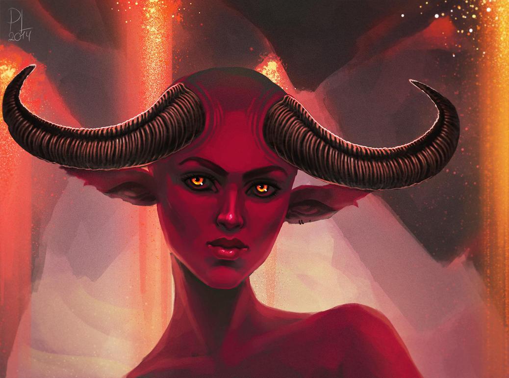 Demon by PurpleLemon13