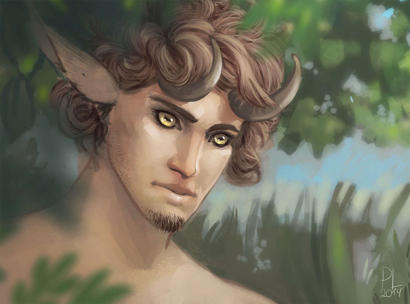 Satyr by PurpleLemon13