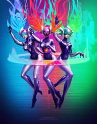 Dj Sona by PurpleLemon13
