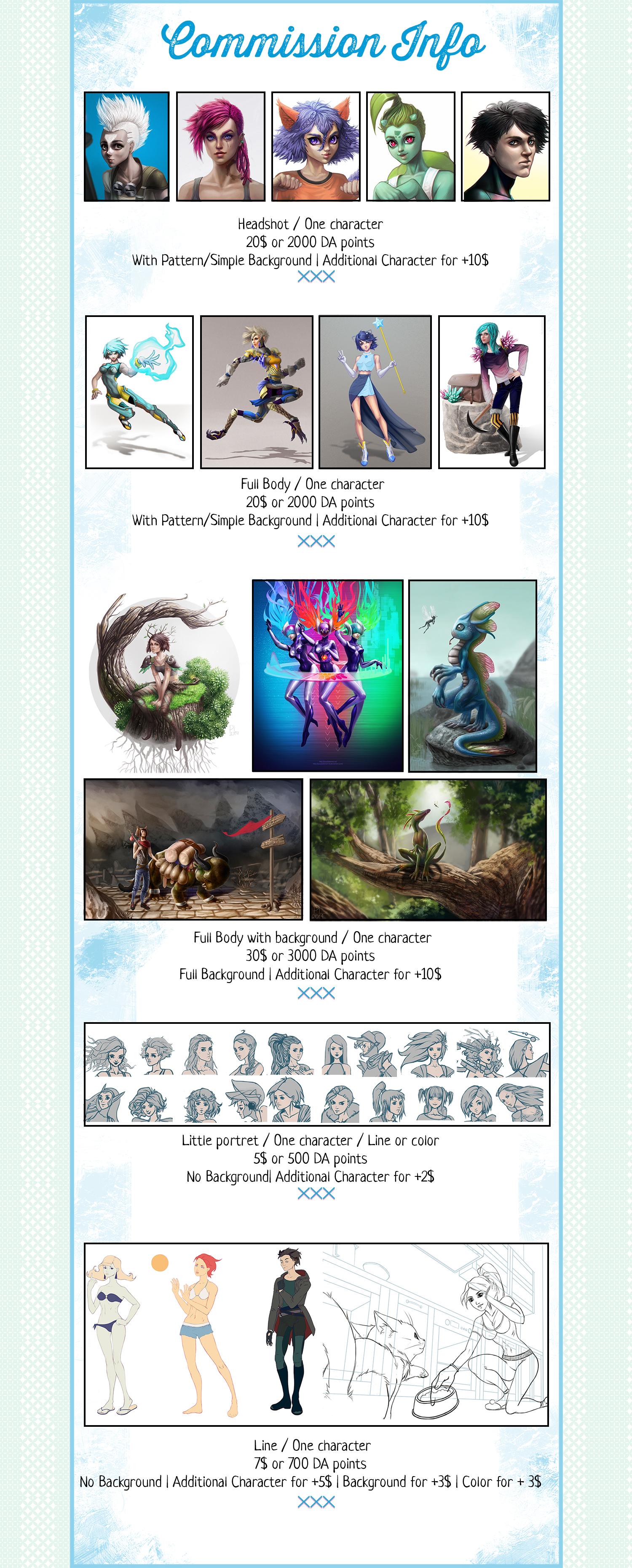 Commission info by PurpleLemon13