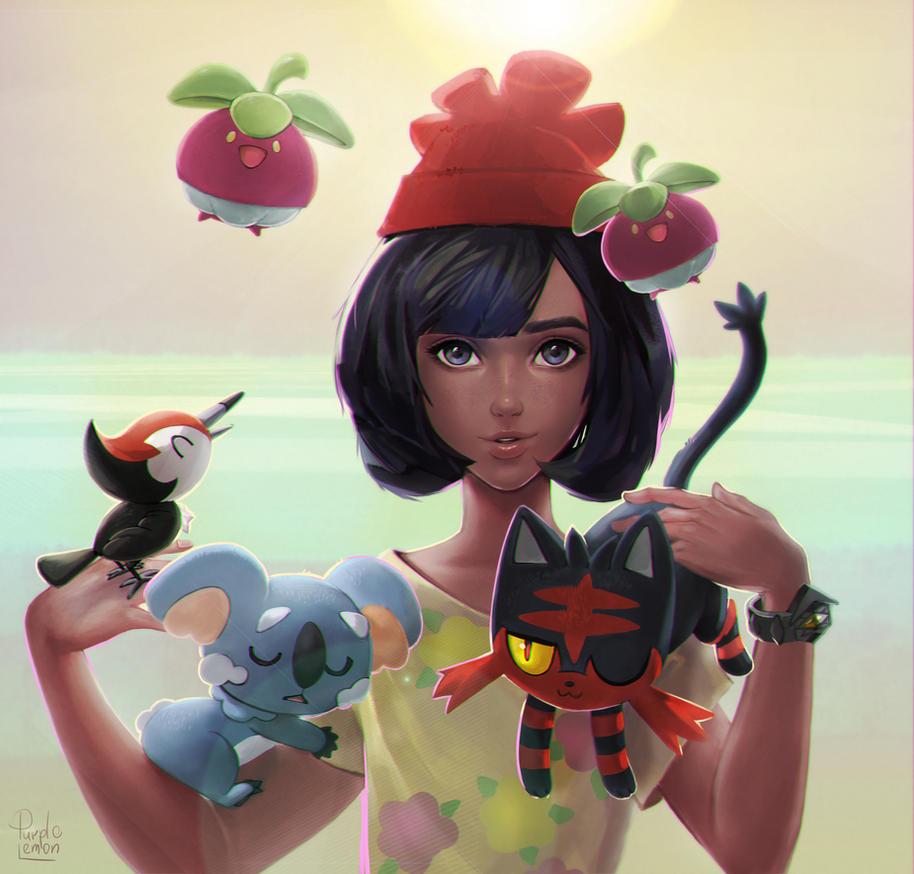 Pokemon Sun and Moon by PurpleLemon13
