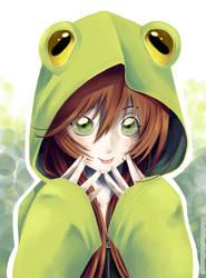 Kigurumi Frog by Saiko--Rohime