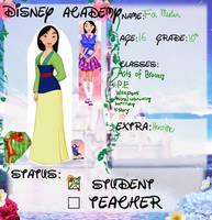 Mulan DMA App by VivaFariy
