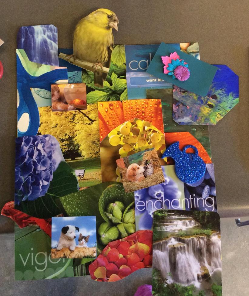 Enchanting Nature Collage by VivaFariy