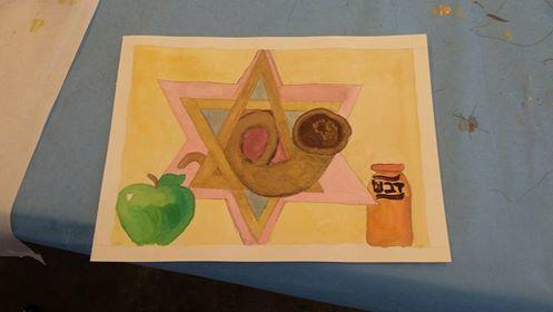 Jewish New Year Painting by VivaFariy
