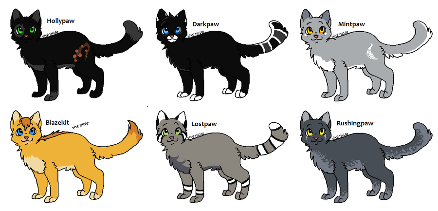 Yellow Tooth Warrior Cats