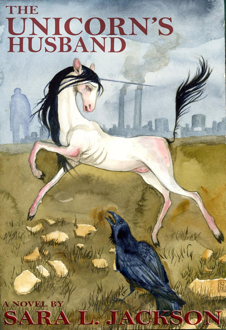 Diy Unicorn Book Cover ~ The unicorn s husband book cover by sarajacksonjihad on