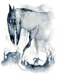 The fascist horse of Death by sarajacksonjihad