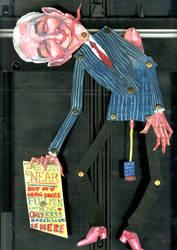 Ron Paul Puppet by sarajacksonjihad
