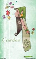 Garden by hahatem