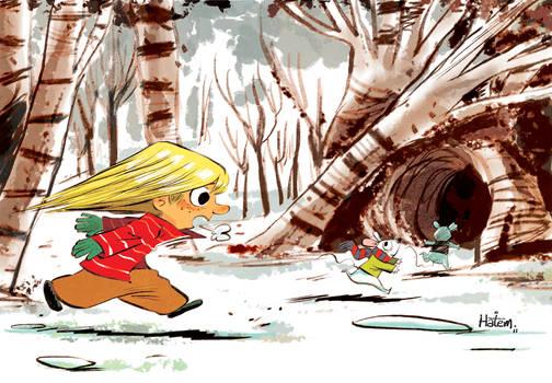 Chasing Snow Mice