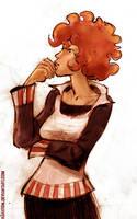 redhead by hahatem