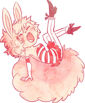 Fairyfloss Bunny by IFreischutz