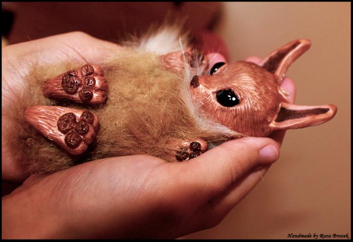 Little OOAK Baby Eevee for SALE by TotemEye