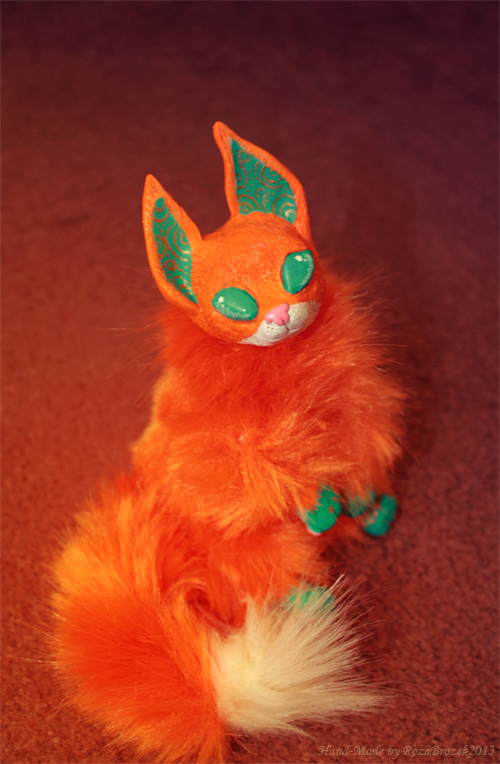 Turquoise Fox by TotemEye