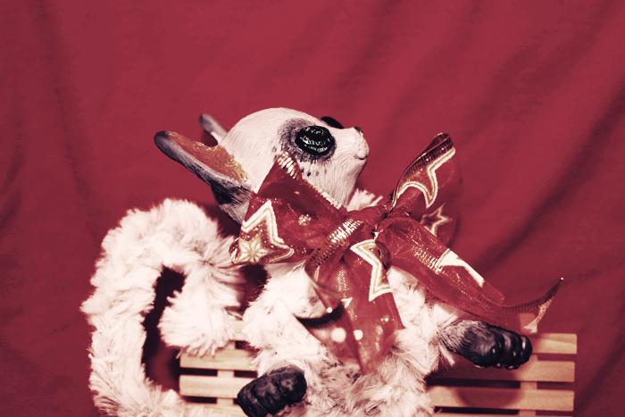 Christmas Kitten by TotemEye