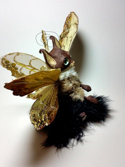 Papillon Kitten by TotemEye