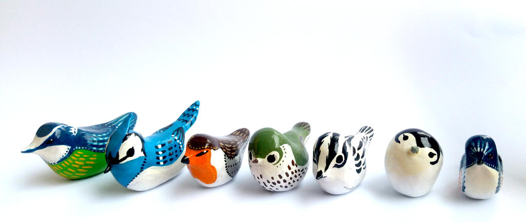 Little Bird Totems by TotemEye