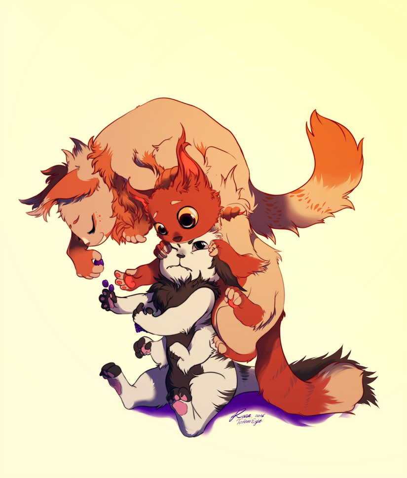 ::Commission::Ginger:Pickle:Clove: by TotemEye