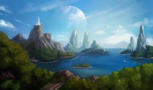 Scenery of Katrandar (Sapphire Laguna)