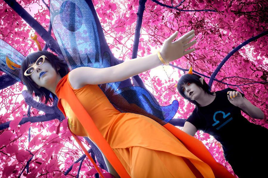 Across the Dream [Aranea and Terezi]