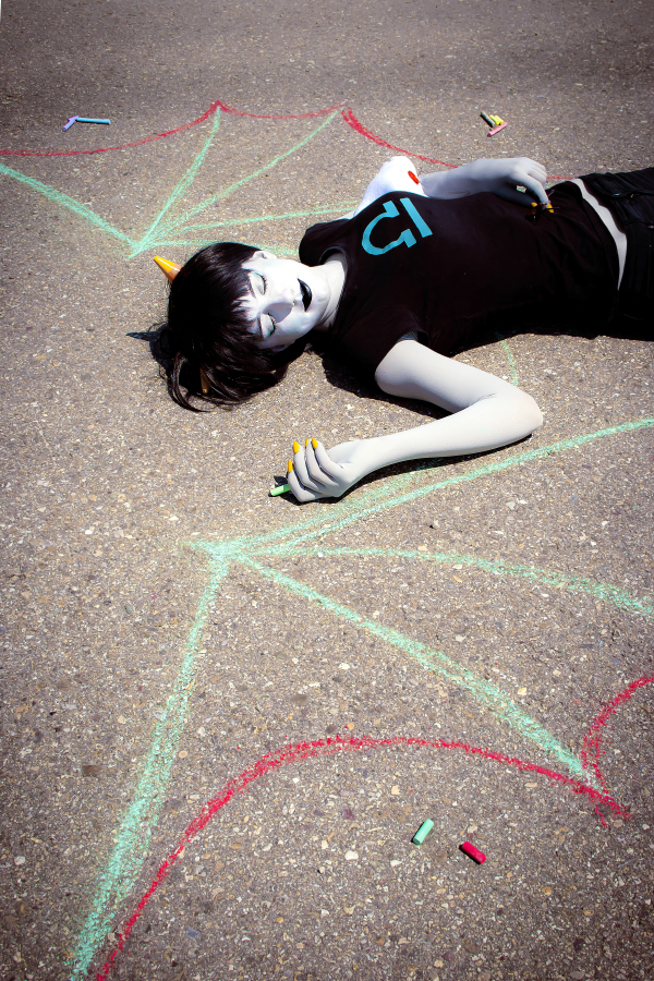 When my eyes run out of light [Terezi Pyrope] by Mitsuki-Aizawa
