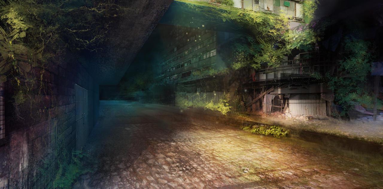 Forgotten City by padawana