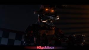 [FNaF SFM] Nightmare Foxy by HSgoldbox