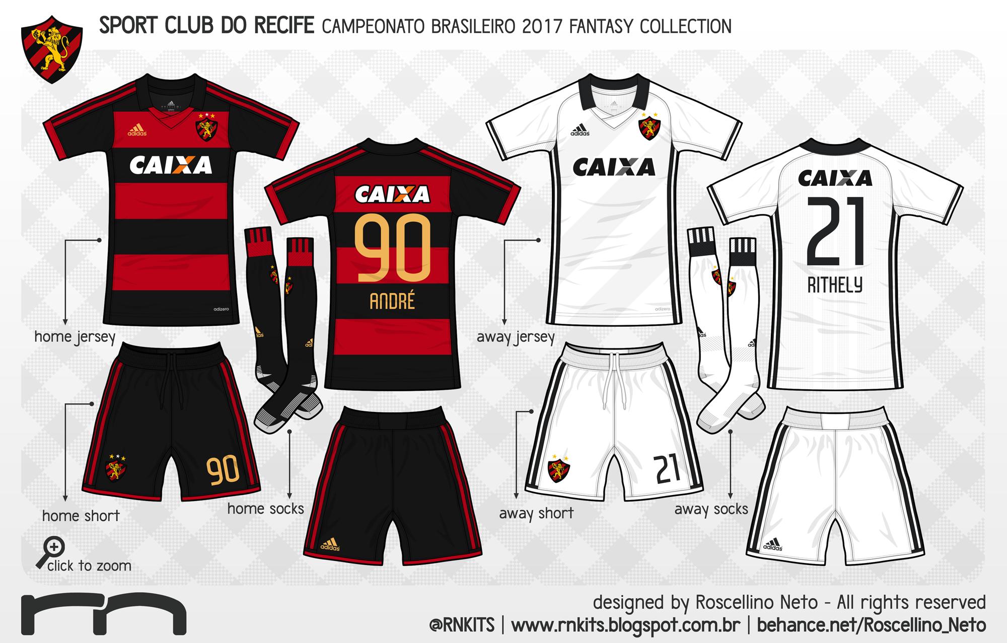b8cae59004 O último clube da adidas é o Sport. Em referência aos uniformes dos anos  90