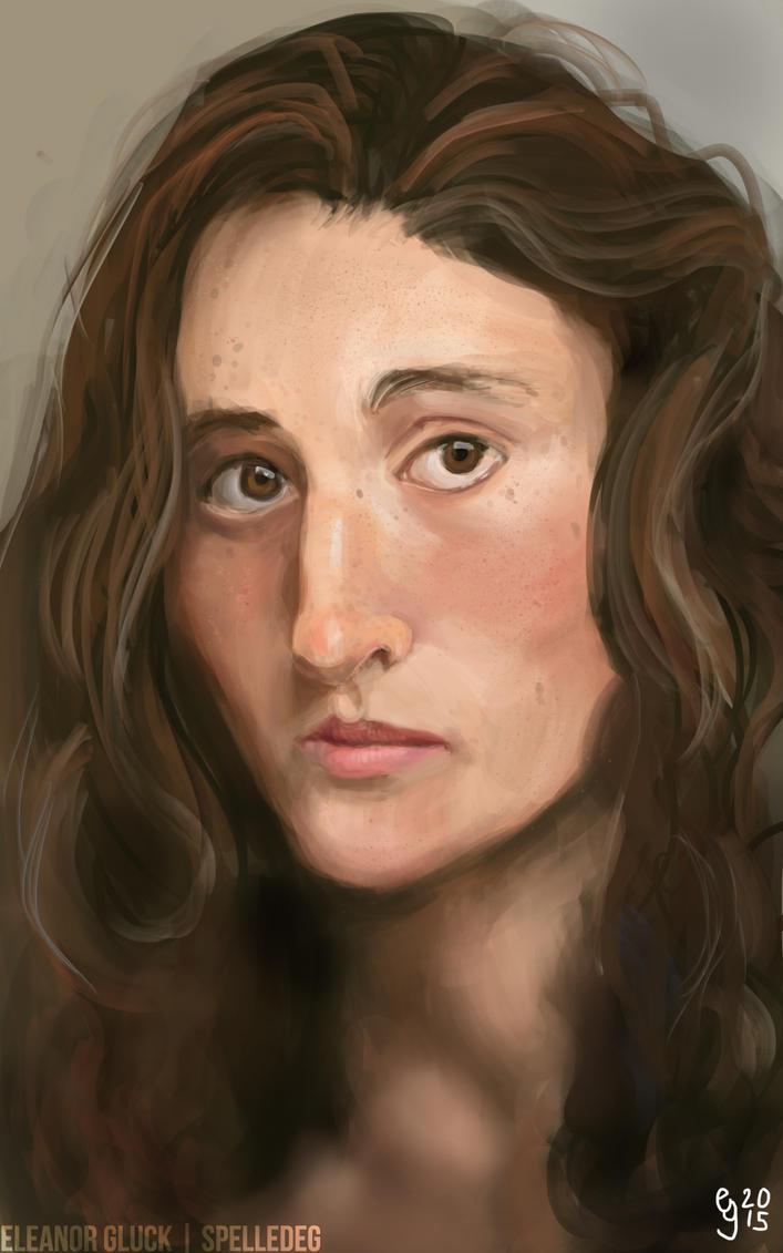 Eleanor - portrait study by Renacido
