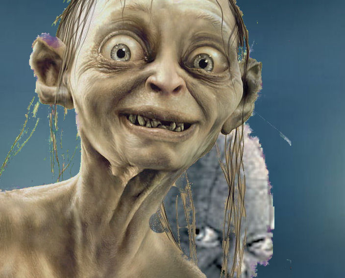 gollum lord of the rings by infamousred67 on deviantart