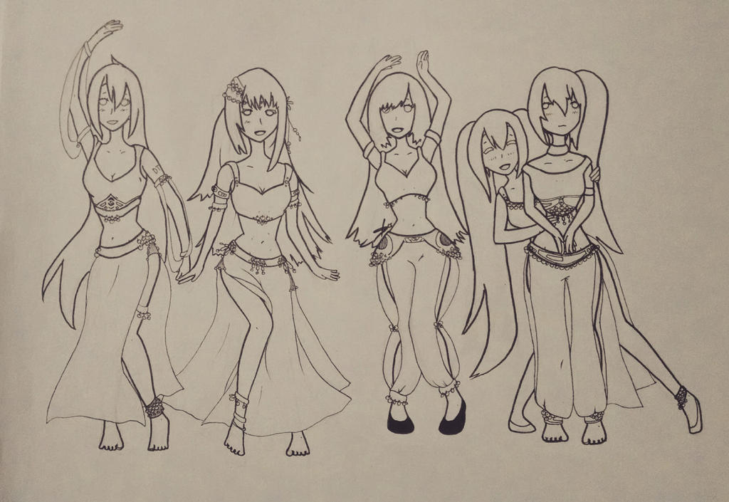 Bellydancing Group Request by shadoweclyps