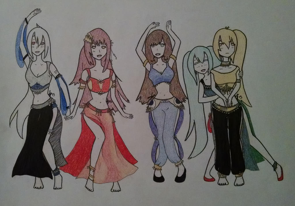 Bellydancing Group Request Color1 by shadoweclyps