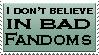 There's no bad Fandom by AgentLaffey119