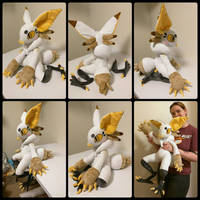 Axyl the Grem2 Plush by SabakuNoYoukai