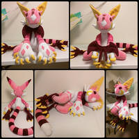 Merloo the Grem2 Plush by SabakuNoYoukai