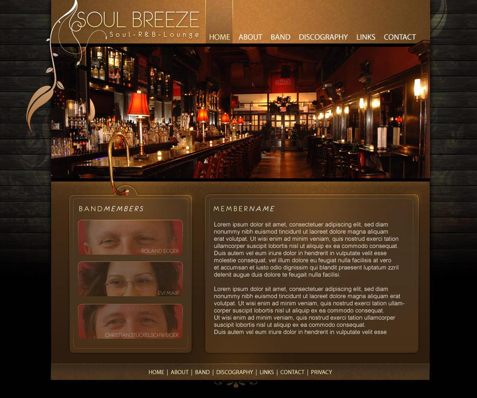 SOULBREEZE - website by archetype-it