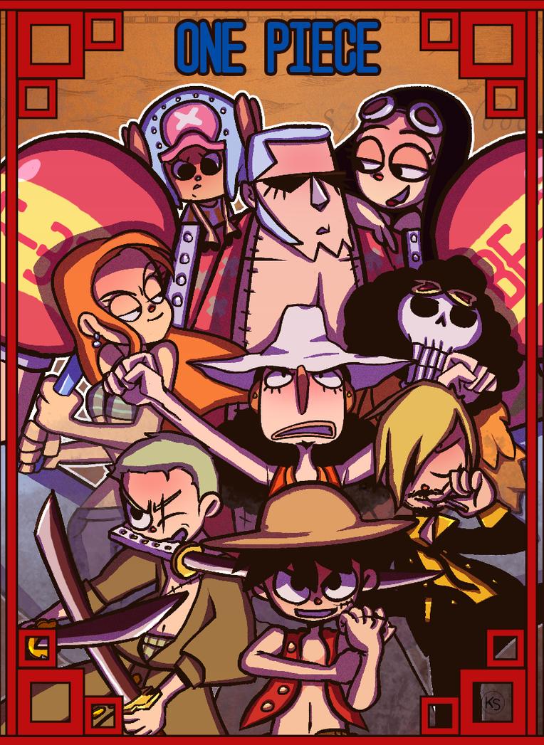 One Piece by wafflz