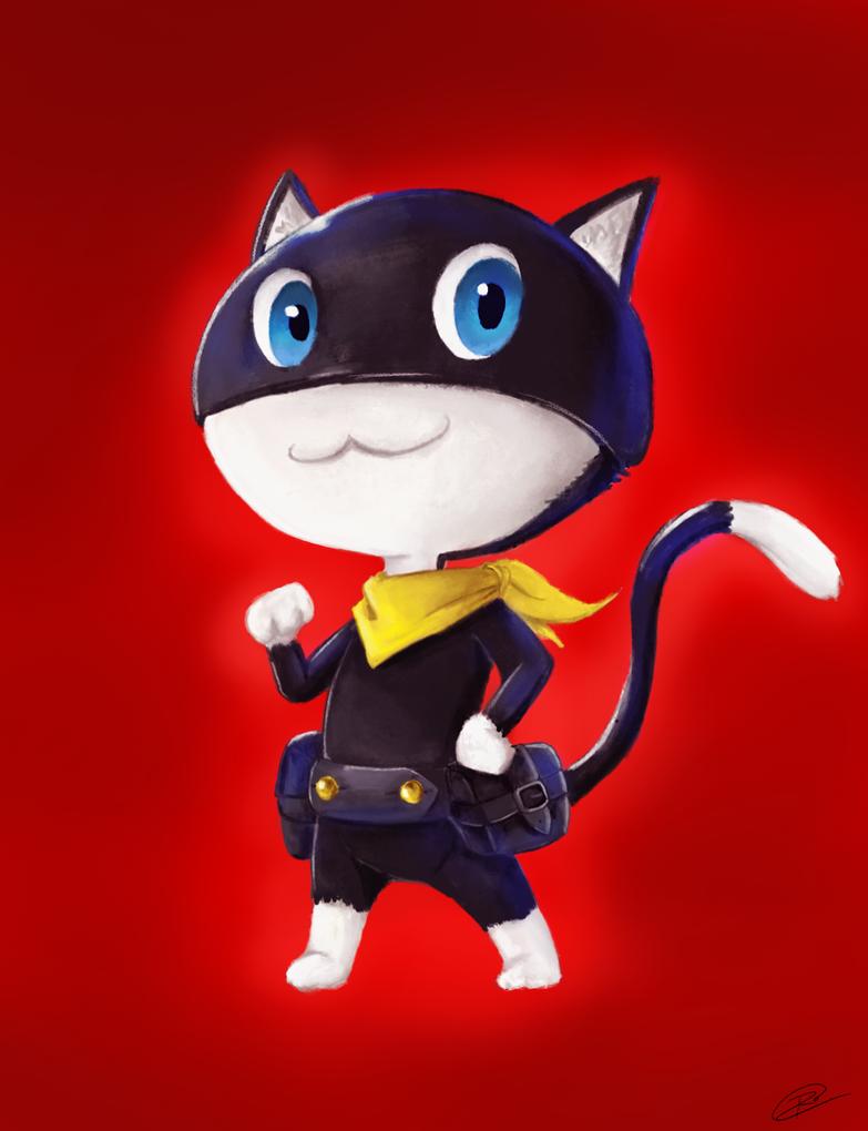 Persona 5 - Morgana by Ro-Arts