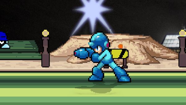 Megaman's New F-smash by Scouge9807