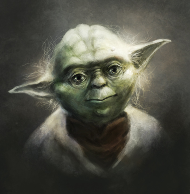 Master Yoda by Zetsuboushi