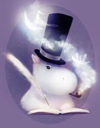 The Exploits of Moominpappa by Zetsuboushi