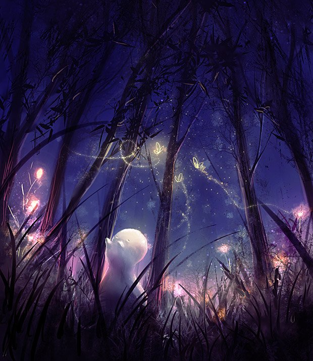 Fireflies by Zetsuboushi